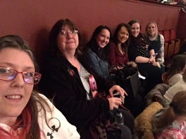 Mams nightout at New Theatre Cardiff – The Wedding Singer