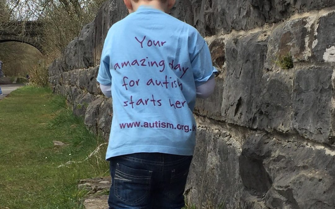 Saturday's Sponsored walk for autism.